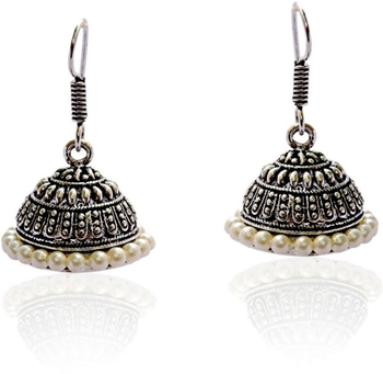 Pearl Studded casual wear jhumka