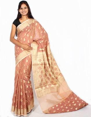 Tanchooi Banarasi zari work saree