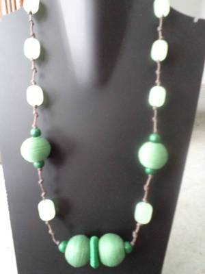 Green Necklace-Aliff Lailaa-090146