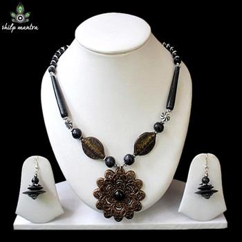 Shilpmantra's Ecofriendly Fashionable Designer Bamboo Necklace