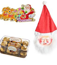 Buy Santa Claus Mask n 16 Pc. Ferrero Rocher Chocolate 118 christmas-gift online