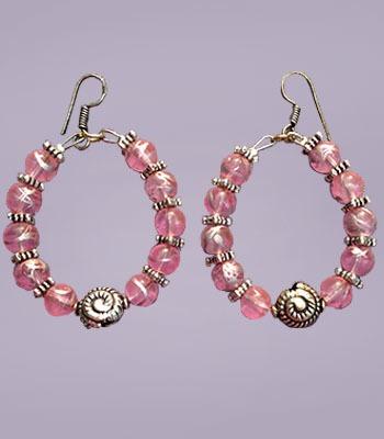 Pink Hoops.