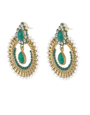 The Viridescent ChandBali Earrings