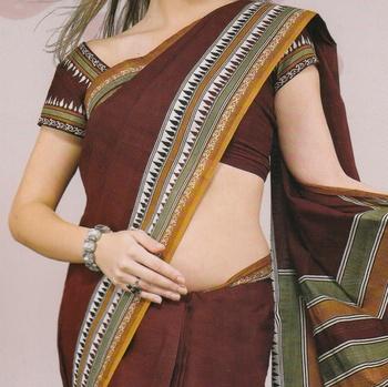 Sarees Mal Mal Cotton Designer Prints With Blouse Piece D.No D1009