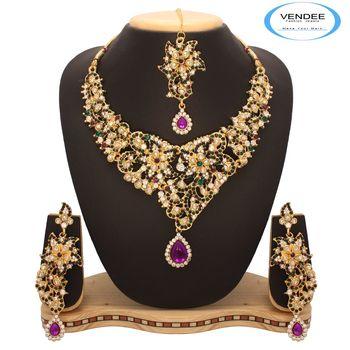 Vendee Bridal Fashion Necklace 7647