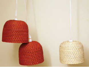 Hanging light  - DOME SHAPE