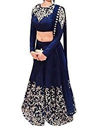 Traditional Designer Partywear lehenga with Blouse Piece
