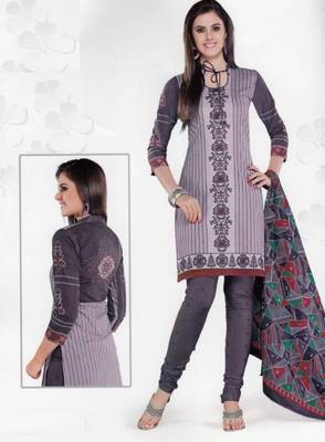 Cotton Dress Material Elegant Designer Unstitched Salwar Suit D.No 3527