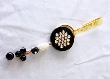 Black Onxy Keychain