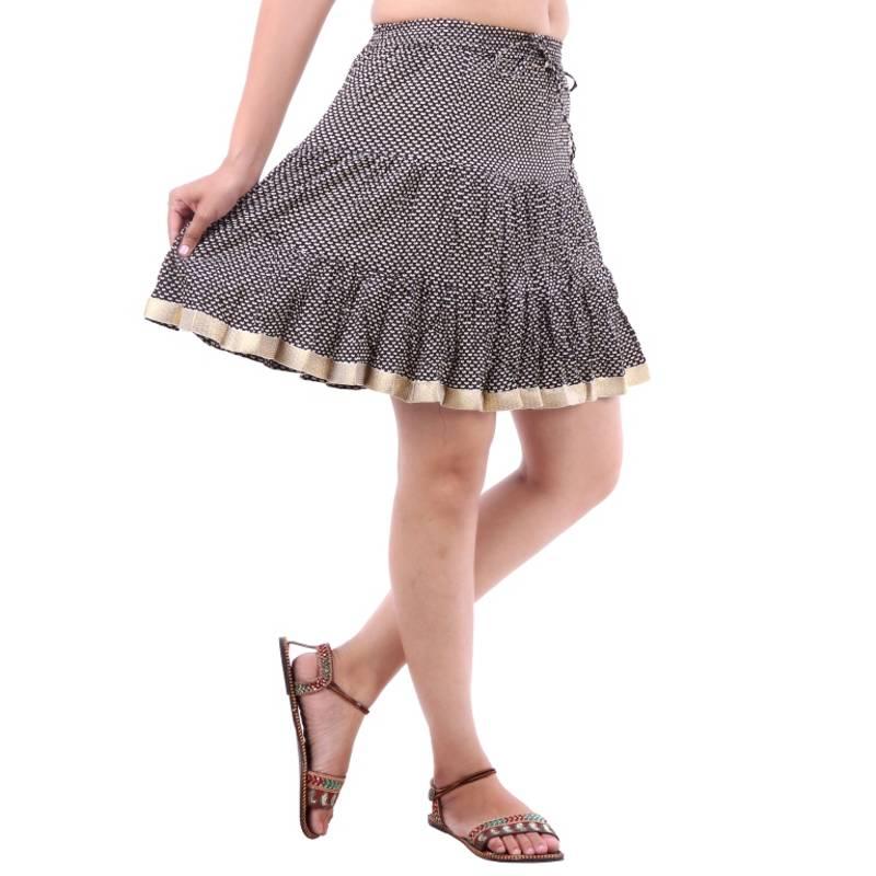 Buy Rajasthani Beautiful Designer Printed Mini Skirt Online