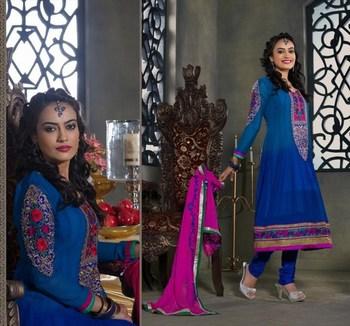 Shilpmantra's designer zoya salwar kameez