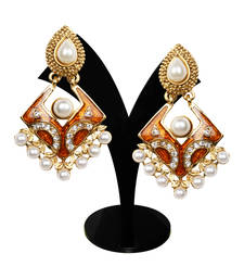 Buy Ethnic Festive Fashion Earrings danglers-drop online