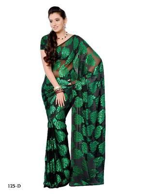 Glistening Party/Function wear saree by DIVA FASHION- Surat