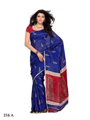 Exhilarating Festival/Party Wear Designer Saree by DIVA FASHION- Surat