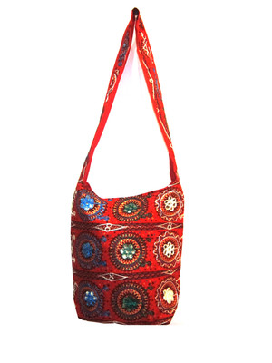 handcrafted embroidery hand bag