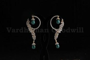 stylish rajwadi earrings