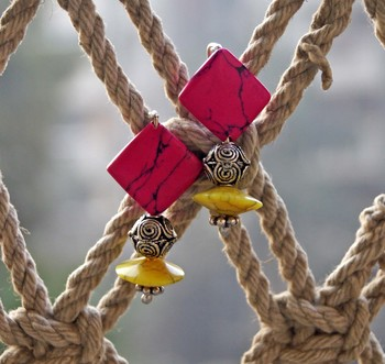royal colorful dangler