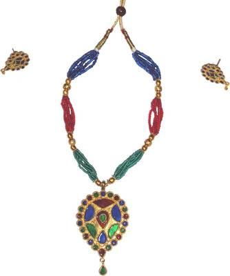 Handmade Ethnic Indian Assamese Jewellery - Dugdugi Set