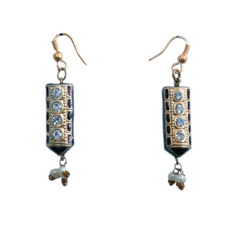 Buy Rajasthani Fashion Designer Earring Valentine Gift Online