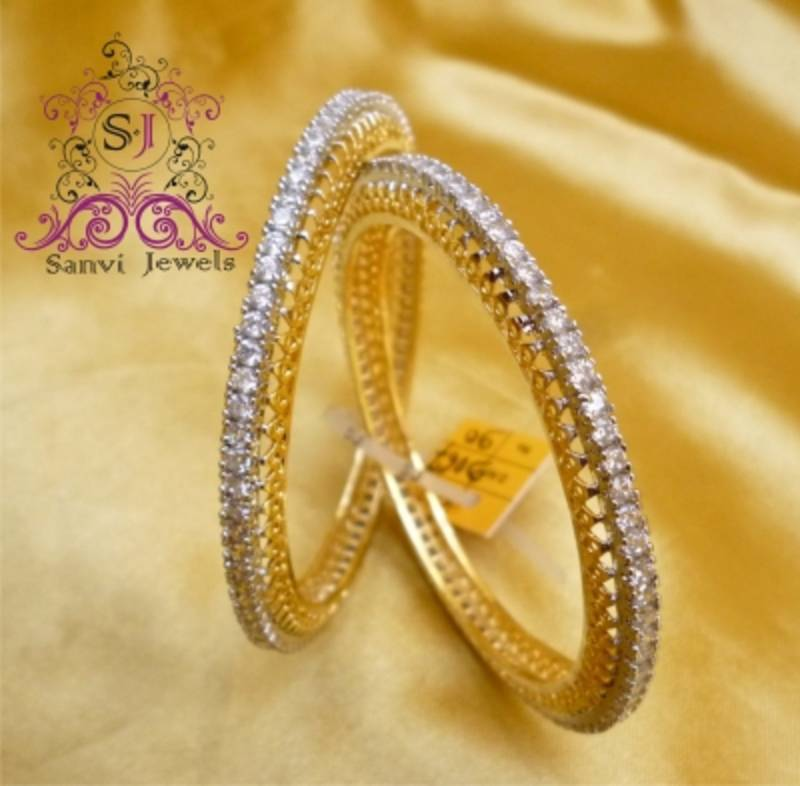 bangle line diamond online jewellery danica bangles single