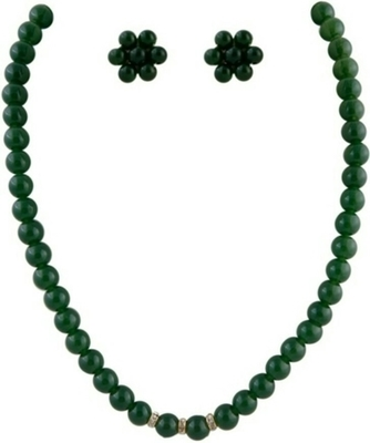 Green Mother of Pearl necklace-sets
