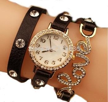 Fency Bracelet Watch-Love Diamond