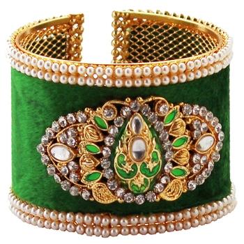 Kundan jewellery kada