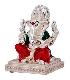 Buy Silver Plated Ganesh Idol ganesh-chaturthi-gift online