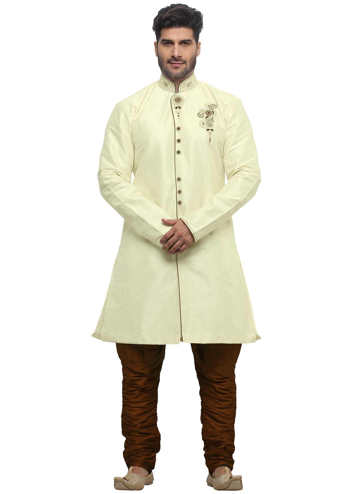 Buy Indo Western Mens Dresses, Sherwani , Outfits & Suits Online