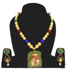 Buy MULTICOLOUR PACHI NECKLACE SET necklace-set online