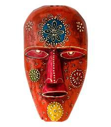 Buy Salmon Head Wooden Mask wall-art online