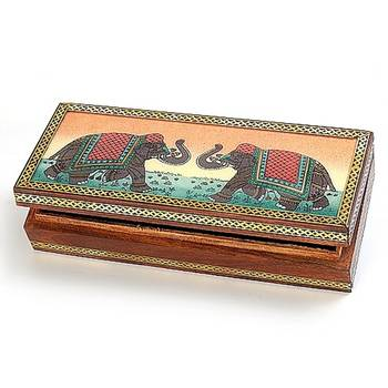 Real Gem Stone Jewellery Box-009
