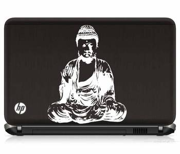 Buddha laptop decal