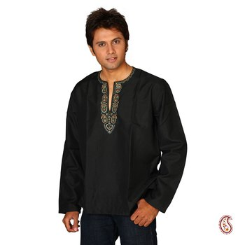 Dazzling Cotton Kurta with Paisley design