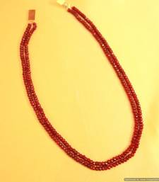 Buy Ruby Semi Precious Fine necklace gemstone-necklace online