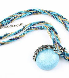 Buy Blue Crystal necklaces Necklace online
