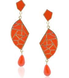 Buy Mosaic tangerine Beauty Dangler Earring danglers-drop online