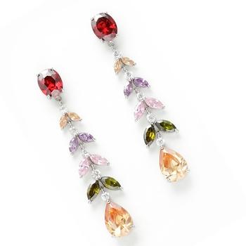 Multicolour Crystal  Earrings