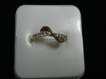 Gold plated lovely ring