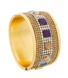 Buy Designer multicolor gold plated bracelet bangles-and-bracelet online