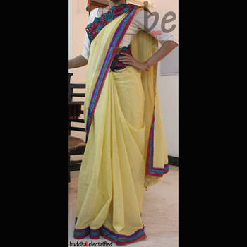Ethnic Saree - Bold Moves