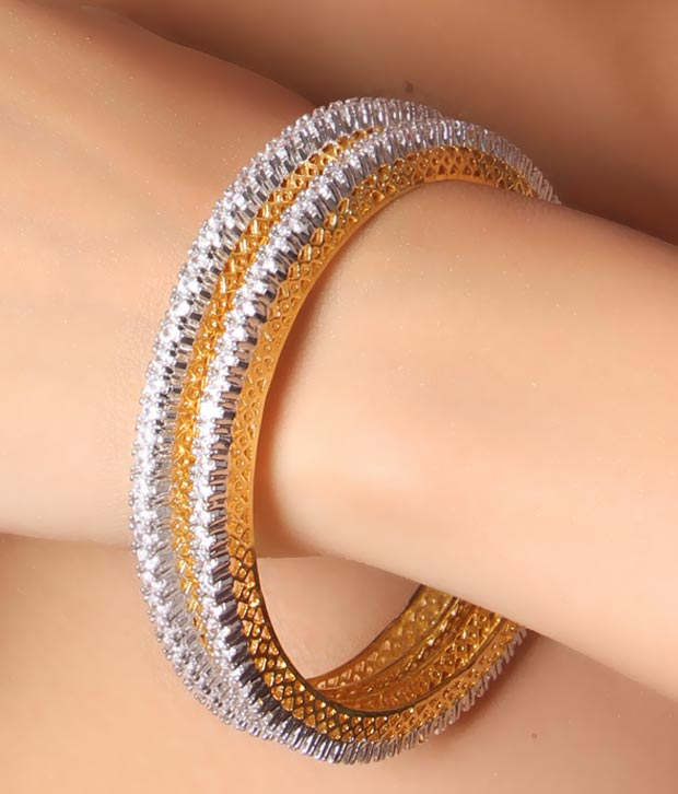 Buy American Diamond Bangles line