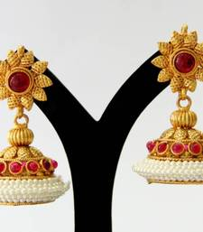 Buy BEAUTIFUL ANTIQUE JHUMKA south-indian-jewellery online