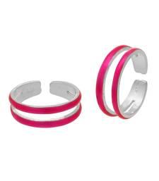 Buy Silver plain toe-rings toe-ring online