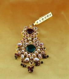 Buy micro gold platted satka brooch brooch online