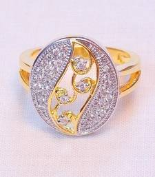 Buy STYLISH FINE TWO TONE RING Ring online