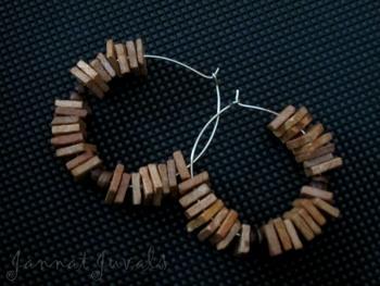 Trendy Wooden Earrings