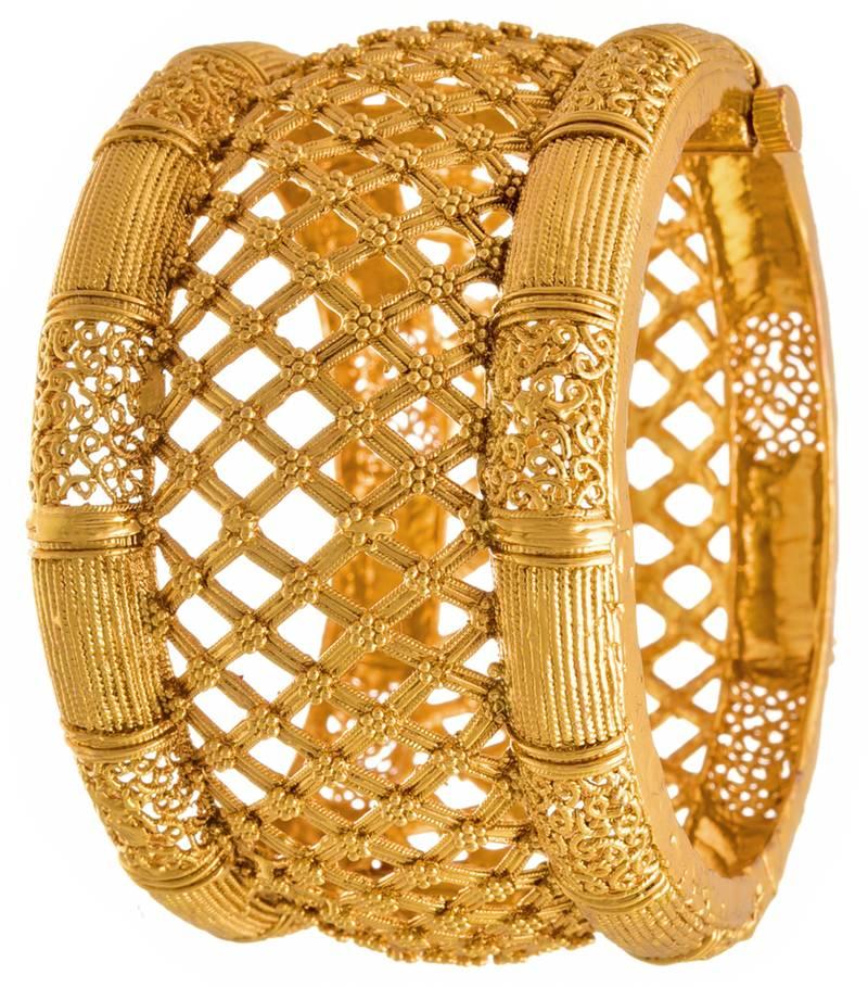 Buy Jfl Traditional Ethnic Amp Antique One Gram Gold