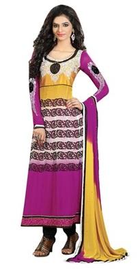 Triveni Astonoshing Faux Georgette Indian Designer Salwar Kameez TSXGTSK2101b