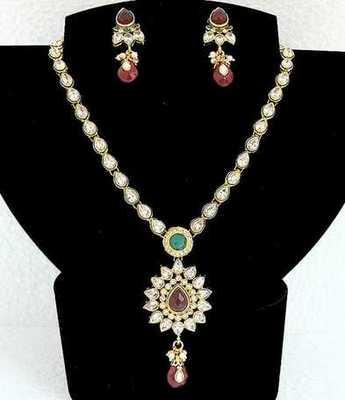 Polki Multi Necklace Set